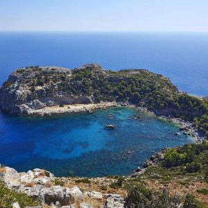 anthony quinn bay in faliraki