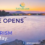 The Prime Minister of Greece , announced opening of  tourism  on  the 15th of May