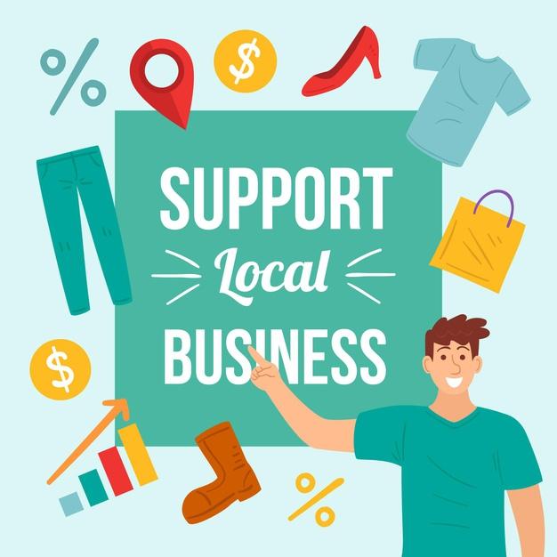 Υποστηρίξτε τις τοπικές επιχειρήσεις